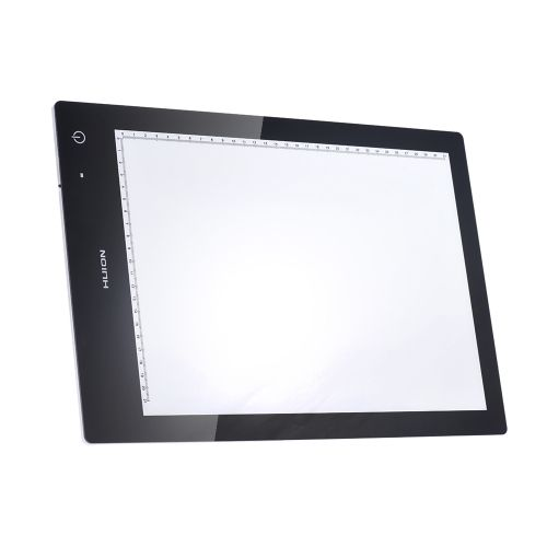79.17$  Buy here  - HUION LB4 15-Inch Rechargeable A4 Portable LED Light Pad Box Panel Table Copyboard Adjustable Brightness Dual Power Supply USB/Lithium Battery for Cartoon Tattoo Tracing Pencil Drawing