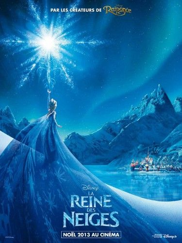 """Frozen. An early teaser poster for """"Frozen"""" from Elsa's perspective."""