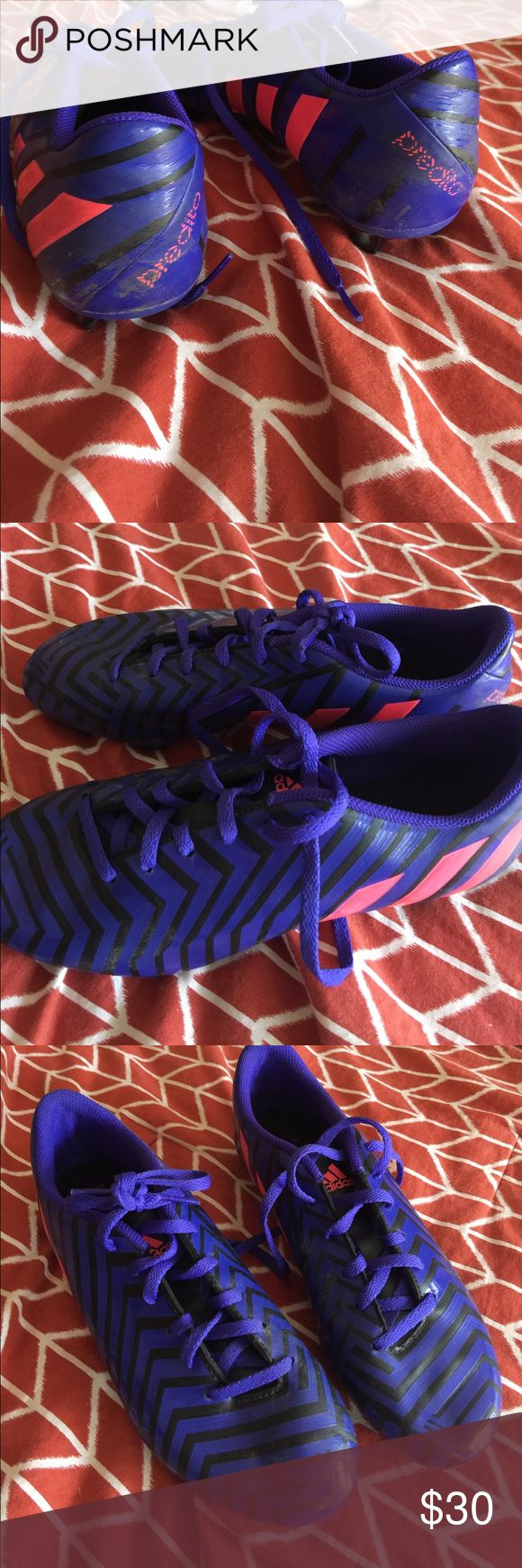 Adidas predito soccer shoes Adidas soccer shoes, in almost perfect condition Adidas Shoes Athletic Shoes