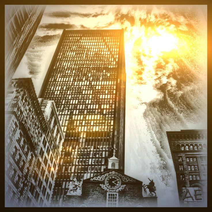 Boston Sun by AngelEowyn