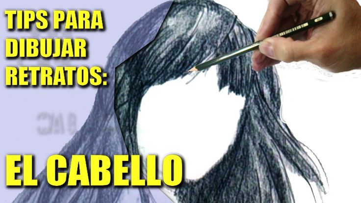 Cómo Dibujar Retratos: Tips y Trucos para Dibujar el Cabello: Tecnicas d...