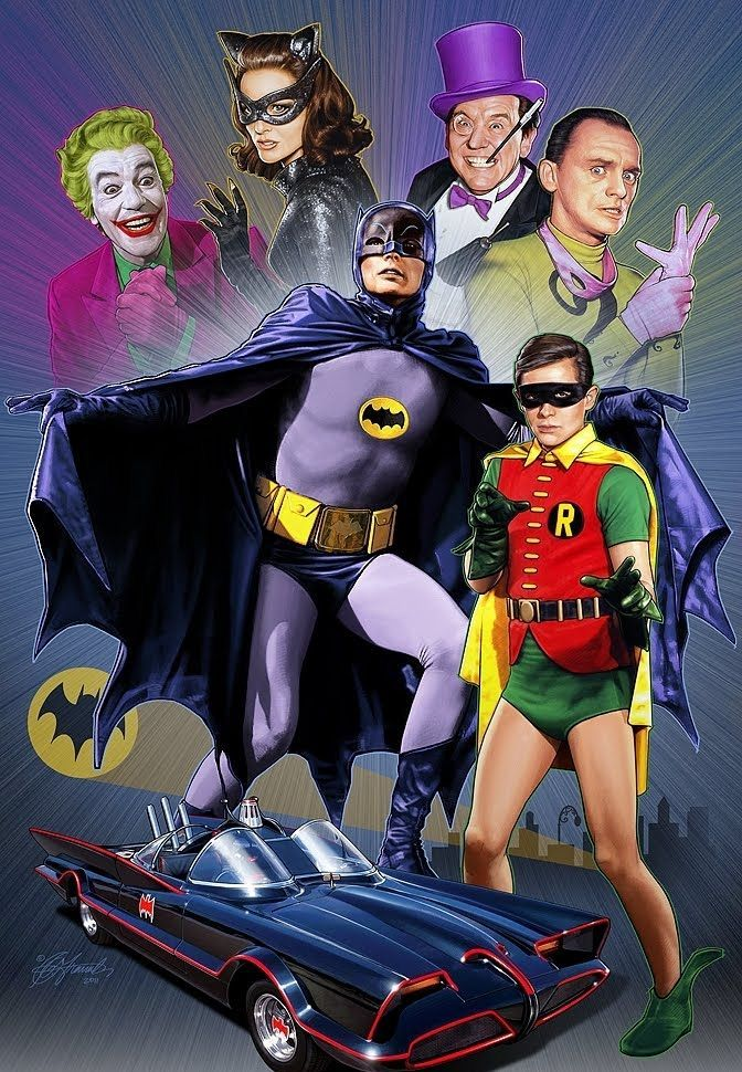 Adam West is the best Batman. Fact.