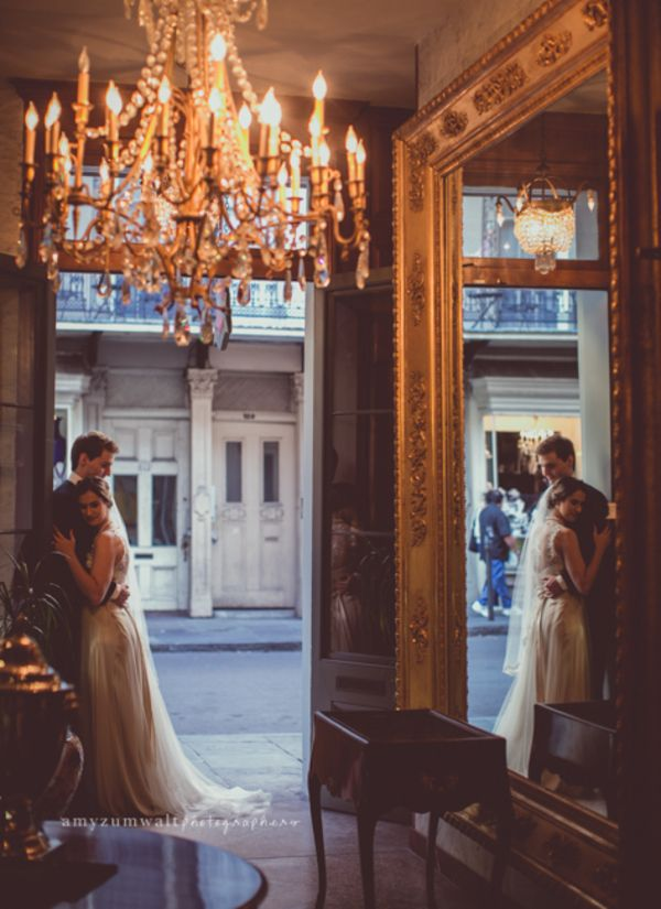 Love the style and feel of this elegant vintage New Orleans wedding!