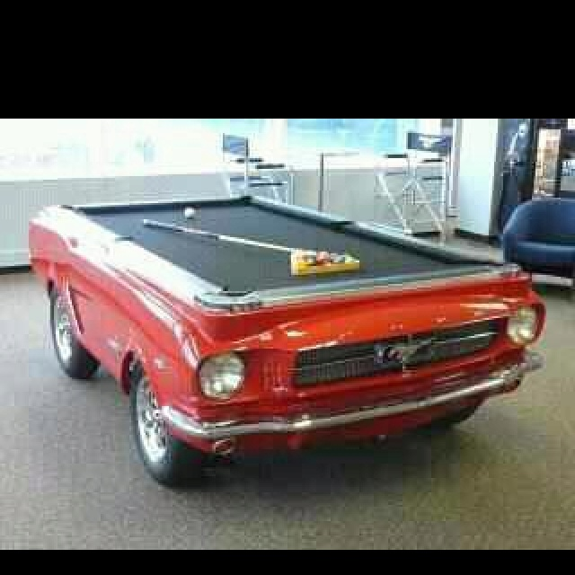 "Garage Turned Into Game Room: ""Car Pool Table This Would Be Perfect For When I Turn My"