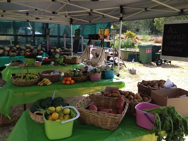 Organic farm produce, Ipswich Queensland
