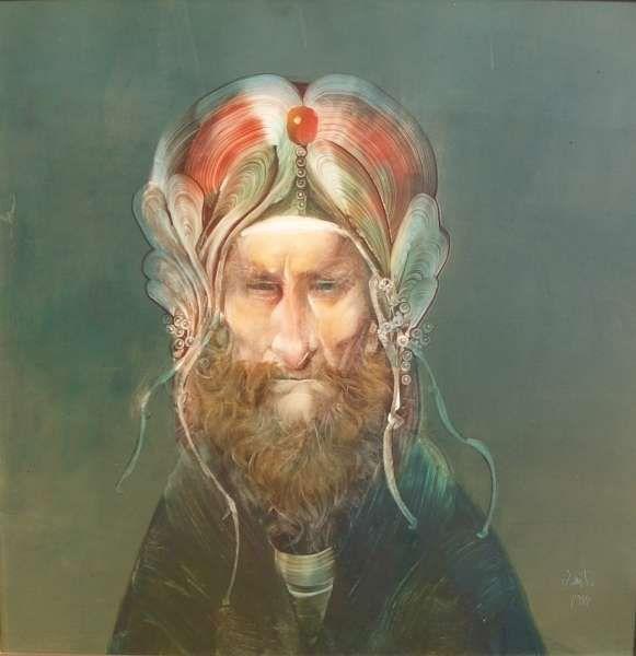 Szász Endre-férfi portré