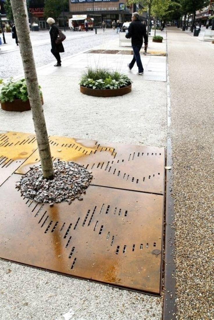 Les 91 meilleures images du tableau entourages d 39 arbres for Jardin urbain green bar