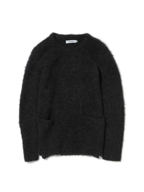 Nonnative // Tourist Mohair Wool Sweater Black