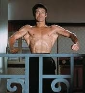 All muscle! Bruce lee is ripped!
