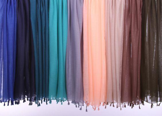 Tassel Hijab