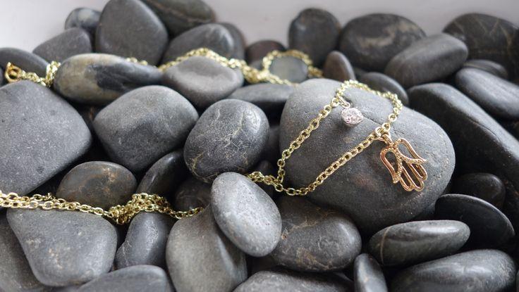 Boho Hamsa Protection Necklace