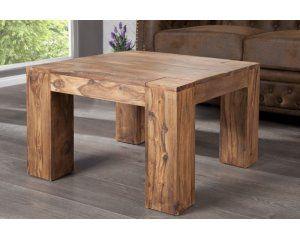 Drewniany stolik kawowy 40x60x60 cm - i16910