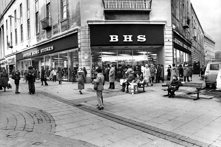BHS 1981, I'd forgotten it used to near The Friary before it moved into the (first) St David's Centre