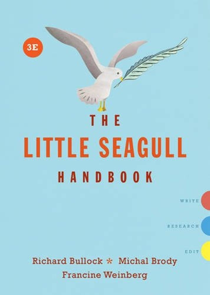 The Little Seagull Handbook 3rd Edition Pdf Ebook Isbn 039360263x 9780393602630it I A Only Digital Book Download File Immediately Manual For Writer Of Research Paper These And Dissertation