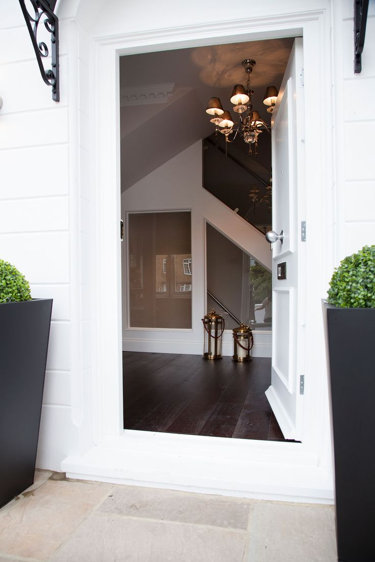 Front entrance of the townhouse | JHR Interiors