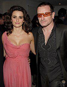 Penélope Cruz and Bono at an event for Volver (2006)