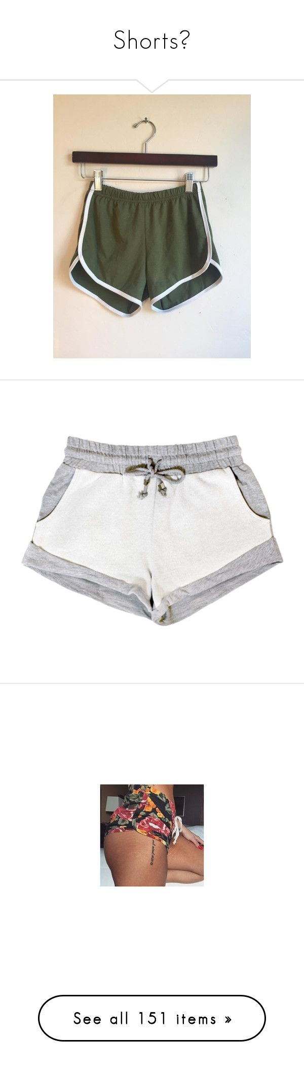 """""""Shorts🤓"""" by gamergirl247 ❤ liked on Polyvore featuring activewear, activewear shorts, black, shorts, women's clothing, bottoms, pants, shorts/skirts, red shorts and short shorts"""