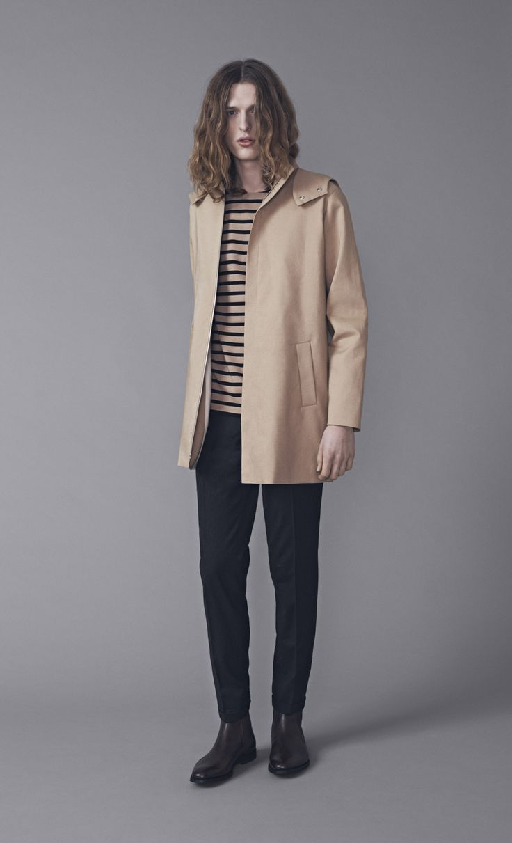 Sono Coat, Rover Top and Presley Trousers | Samuji Man FW15 Collection