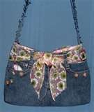 Denim purses are painful......to me.
