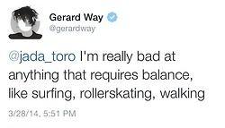 twitter gerard way my chemical romance mcr gerard way tweets gerard way twitter