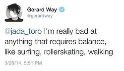 twitter gerard way my chemical romance mcr gerard way tweets gerard way twitter