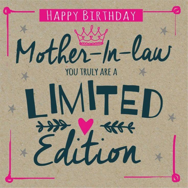 Mother In Law Birthday Happy Birthday Birthdays Birthday Wishes