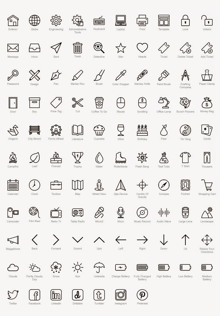 Icons8 - The Largest Free Icon Pack Ever -- awesome resource for graphic designers!