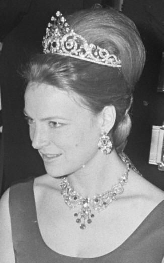 Ruby Peacock Parure worn by Dutch Princess Irene (aunt if current King).