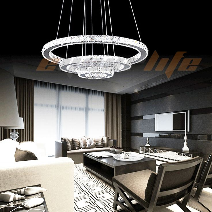 Modern Lighting Ideas The Ideal Light For A Children Room: Details About Modern Galaxy Crystal Chandelier Circles