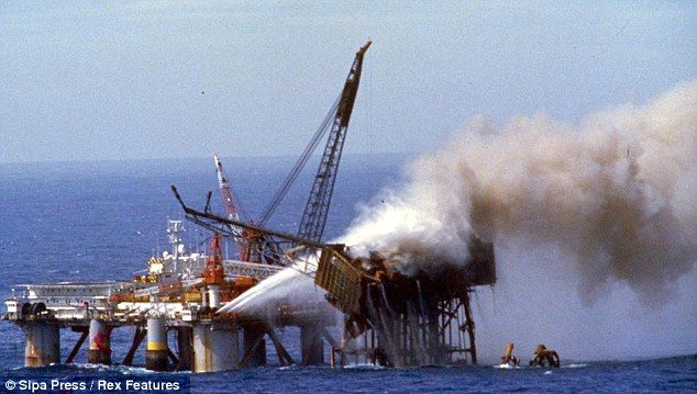 Piper Alpha: 'I thought I pushed him over the edge, I thought I ...