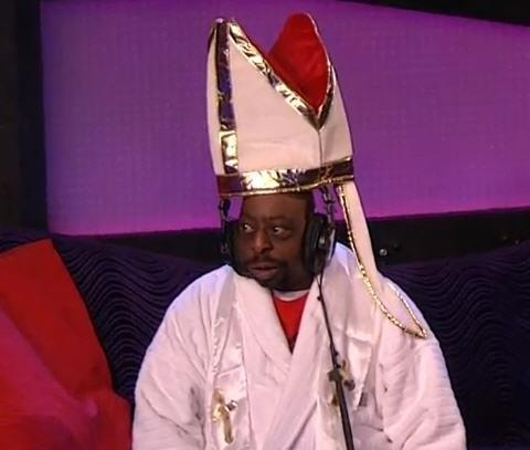 Pope Beetlejuice....HOLY sh*t....hilarious! Thanks