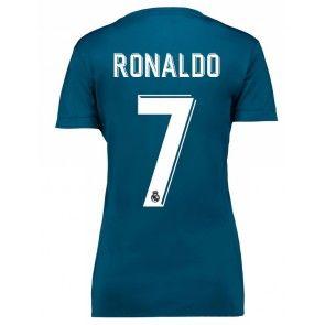 Real Madrid Cristiano Ronaldo 7 Dámské Alternativní Dres 17-18 Krátký Rukáv