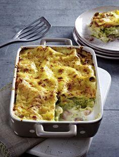 Unser beliebtes Rezept für Brokkoli-Lasagne mit Kochschinken und mehr als 55.000 weitere kostenlose Rezepte auf LECKER.de.