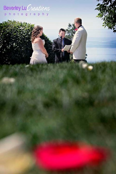 Ocean view ceremony! Can't beat that! & it was less than 20 mins long. Even better!!!!