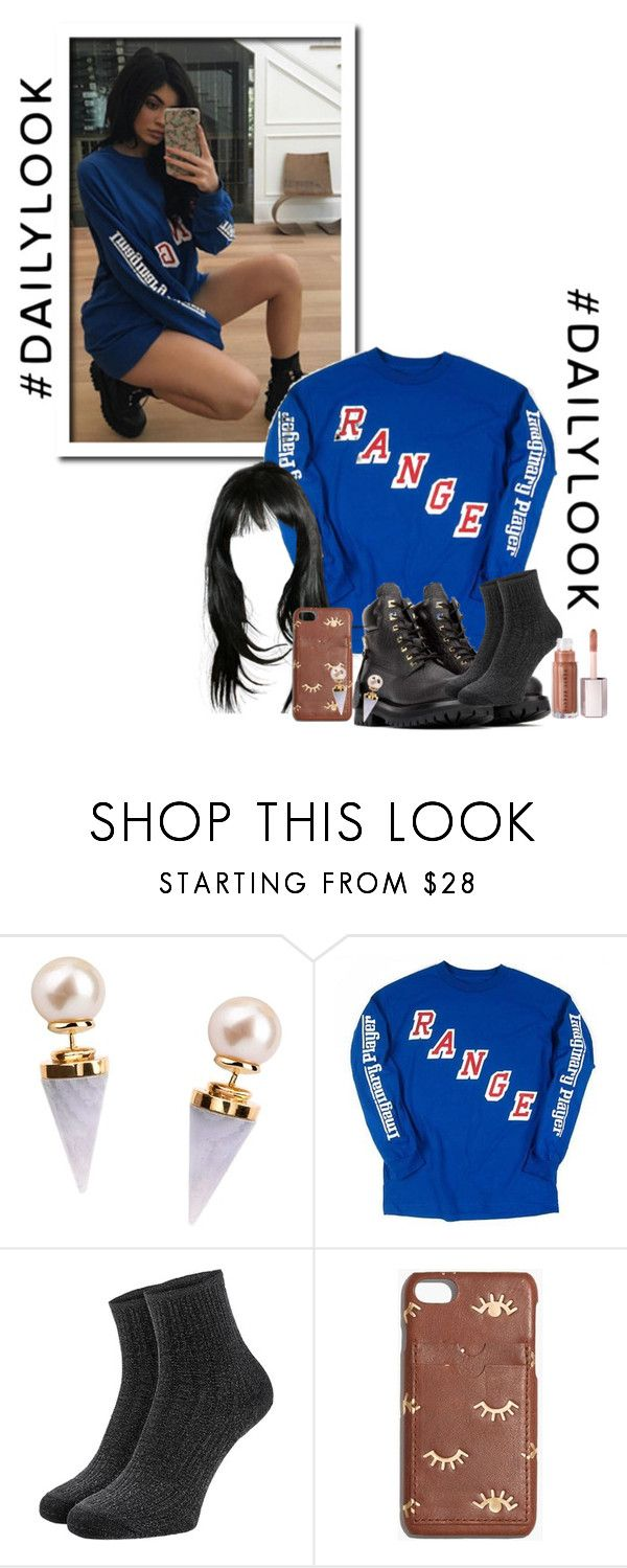"""Kylie Jenner"" by jiminart ❤ liked on Polyvore featuring Gold Philosophy, BUSCEMI and Madewell"