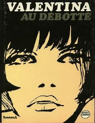 Valentina Au Debotte . comic book by Guido Crepax