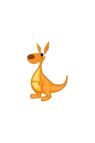 Cangaroo Vector Image #wild #animals #vector #handdrawvector #cangaroo http://www.vectorvice.com/wild-animals-vector-pack