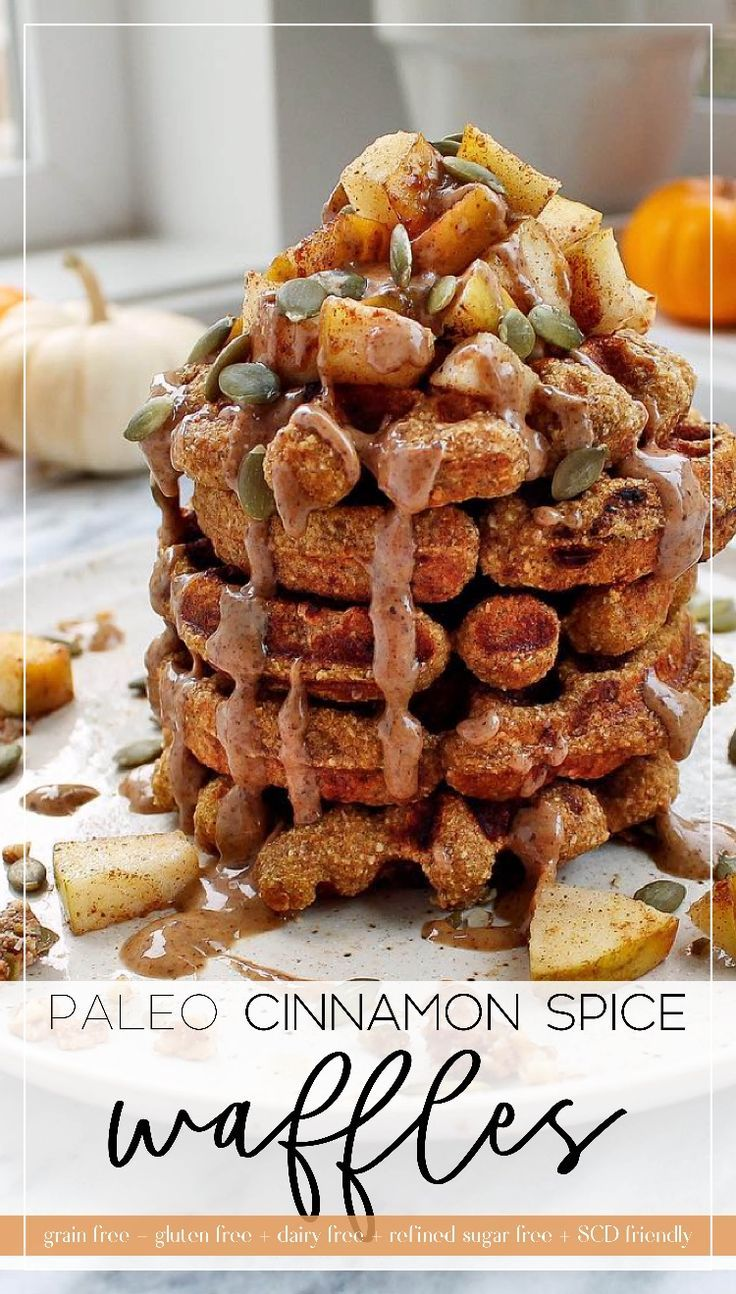 Cinnamon Spice And Everything Nice These Paleo Waffles Are The