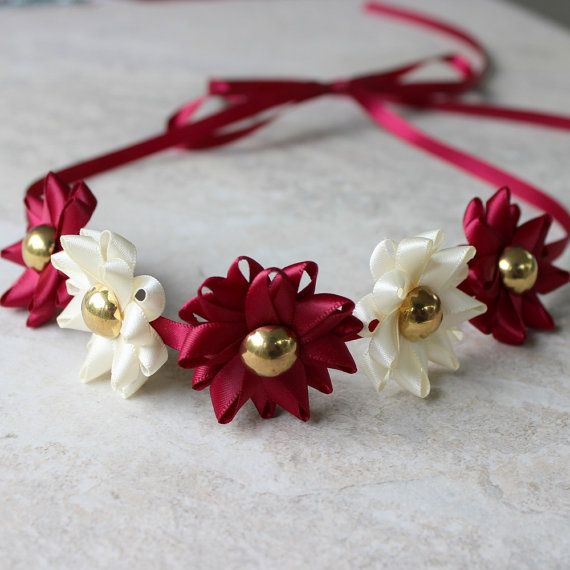 Choose Your Colors for this Ribbon Flower Headband by PetalPerceptions, $15.00