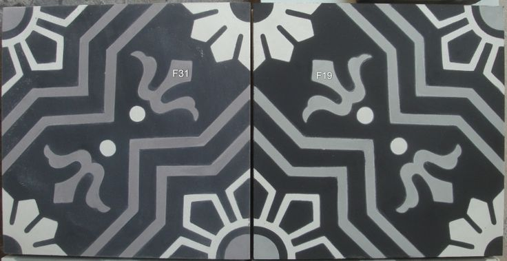 #Portugese tegels en cementegels Serie YILDIZ   20x20 cm www.floorz.nl/portugese-tegels