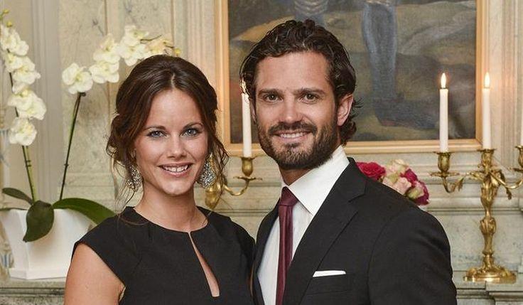 Los príncipes Carlos Felipe y Sofía de Suecia dan la bienvenida a su segundo hijo