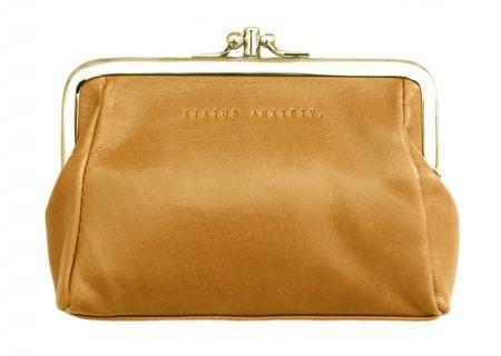 Phoebe leather wallet - tan - hardtofind.