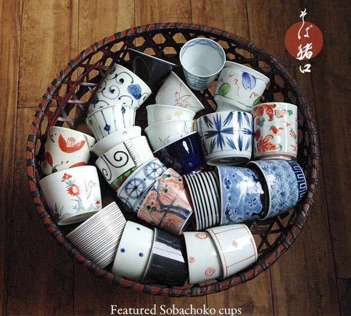 Sobachoko cup -- So many cute patterns!!