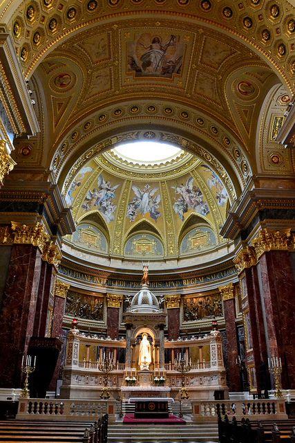 Interior - St. Stephen's Basilica Budapest, Budapest, HU