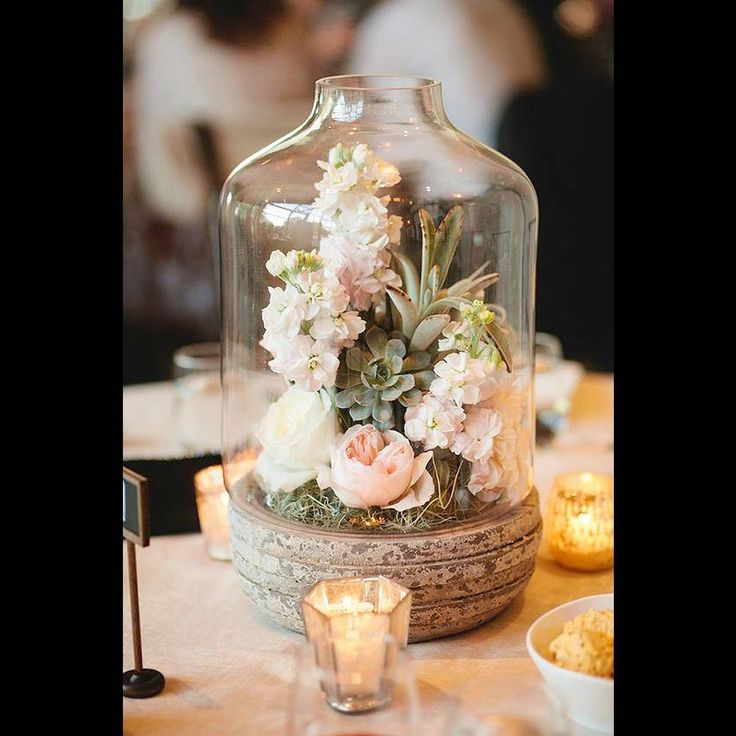 Composition florale à confectionner