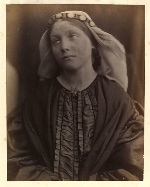 Mary Hillier by Julia Margaret Cameron, England, 1865. l Victoria and Albert Museum #photography
