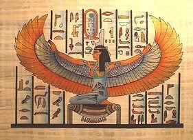 Egypt Goddess Isis...looks very similar to what mine was supposed to look like