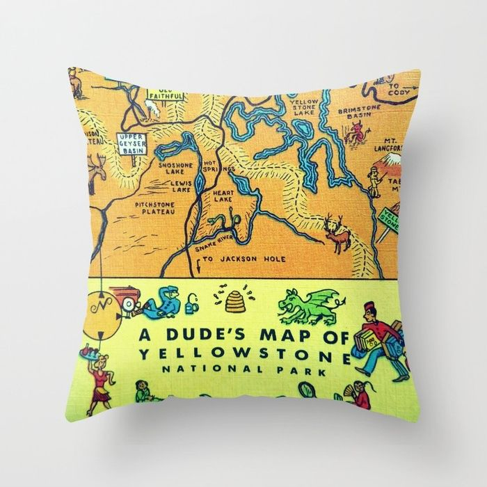Best Vintage Map Globe Obsession Images On Pinterest - Us map pillow
