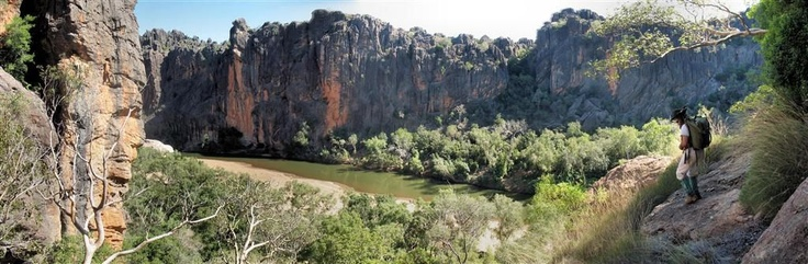 Windjana gorge in the Kimberlies WA