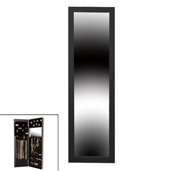 bijoux miroir armoire de bijoux armoire bijoux bijouterie norme quantit kohl jewelry box door mirrored shoe rack - Miroir Range Bijoux
